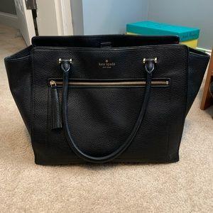 Kate Spade Chester Street Allyn tassel leather bag